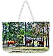 Hanging By The Pond Weekender Tote Bag