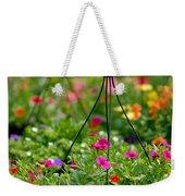 Hanging Flower Baskets Shallow Dof Weekender Tote Bag