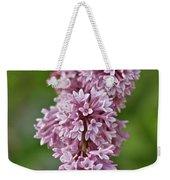 Hanging Lilac Weekender Tote Bag