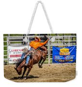Hanging On For 8 Seconds Weekender Tote Bag
