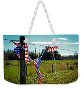 Hanging On - The American Spirit By William Patrick And Sharon Cummings Weekender Tote Bag