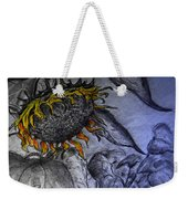 Hanging On To Life - Sunflower Weekender Tote Bag