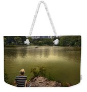 Hanging Out In Central Park Weekender Tote Bag