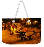 Hanging Out On 116th Street Weekender Tote Bag