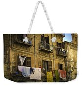 Hanging Out To Dry In Palermo  Weekender Tote Bag