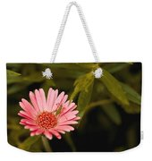 Hanging Out With A Flower Weekender Tote Bag