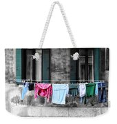 Hanging The Wash In Venice Italy Weekender Tote Bag