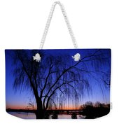 Hanging Tree Sunrise Weekender Tote Bag