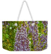 Hanging Wisteria Blossoms Weekender Tote Bag