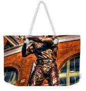 Hank Aaron In Hdr Weekender Tote Bag