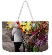 Hanoi Flowers 01 Weekender Tote Bag