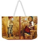 Hansel And Gretel Brothers Grimm Weekender Tote Bag
