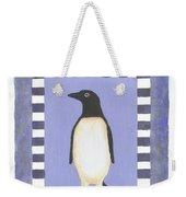 Hanukka Penguin Three Weekender Tote Bag