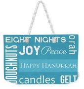 Hanukkah Fun Weekender Tote Bag