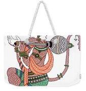 Hanuman Weekender Tote Bag by Kruti Shah