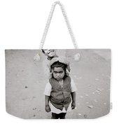 Happiness In India Weekender Tote Bag