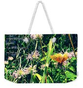 Happiness Is A Butterfly Weekender Tote Bag
