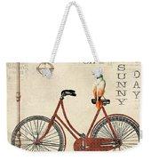 Happiness Is My Bicycle Weekender Tote Bag