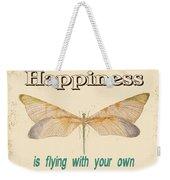 Happinesstypography Weekender Tote Bag