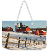 Happy Acres Farm Weekender Tote Bag by Bill Wakeley