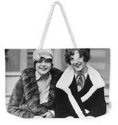 Happy Actresses Weekender Tote Bag