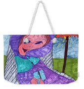 Happy And Content Weekender Tote Bag
