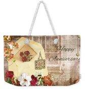 Happy Anniversary Mom And Dad Weekender Tote Bag