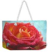 Happy Anniversary Rose Weekender Tote Bag