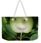 Happy Apple Weekender Tote Bag