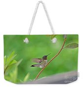 Happy As A Hummer Weekender Tote Bag