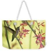 Happy As A Hummingbird  Weekender Tote Bag