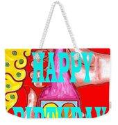 Happy Birthday 1 Weekender Tote Bag