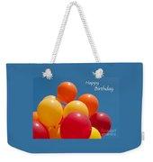 Happy Birthday Balloons Weekender Tote Bag