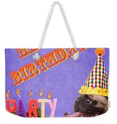 Happy Birthday Card Weekender Tote Bag by Edward Fielding