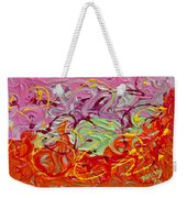 Happy Birthday Weekender Tote Bag by Donna Blackhall