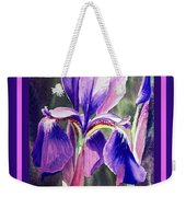 Happy Birthday Iris  Weekender Tote Bag