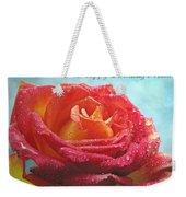 Happy Birthday Mom Rose Weekender Tote Bag