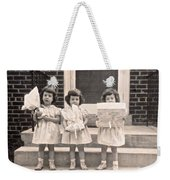 Happy Birthday Retro Photograph Weekender Tote Bag