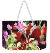 Happy Birthday Rose Weekender Tote Bag