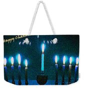 Happy Chanukah Weekender Tote Bag