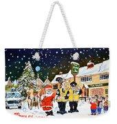 Happy Christmas Weekender Tote Bag