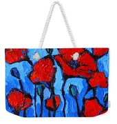 Happy Coquelicots Weekender Tote Bag