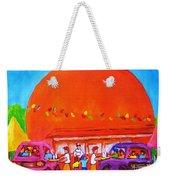 Happy Days At The Big  Orange Weekender Tote Bag