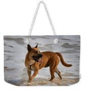 Happy Dogs 5 Weekender Tote Bag