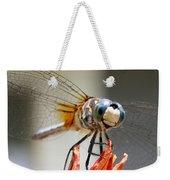 Happy Dragonfly Weekender Tote Bag