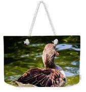 Happy Duck Weekender Tote Bag