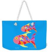 Happy Fish  Weekender Tote Bag