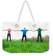 Happy Friends Weekender Tote Bag