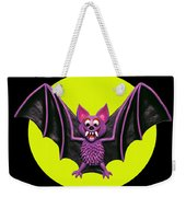 Happy Halloween Bat Weekender Tote Bag
