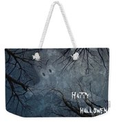 Happy Halloween - Ghost In Trees Weekender Tote Bag